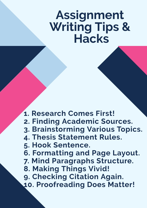 Assignment Writing Tips And Expert Advice